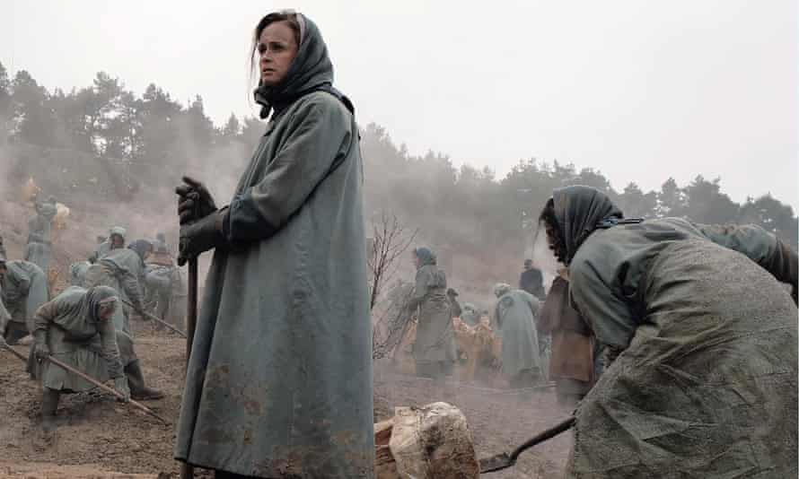 Out of sight… Emily (Alexis Bledel) in the Colonies.