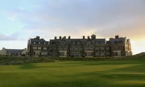 The Trump International Golf Links and Hotel.