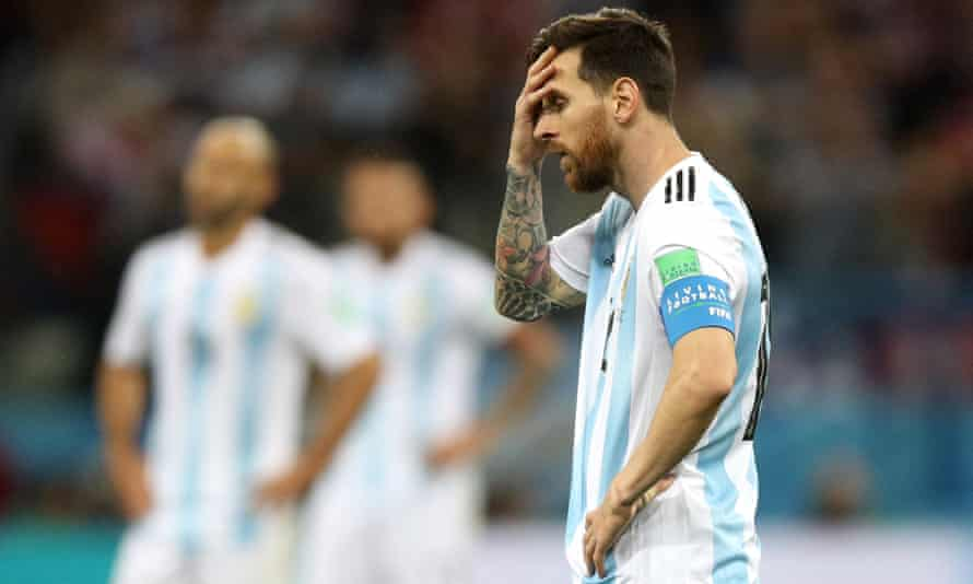 Lionel Messi reflects on Argentina's 3-0 World Cup defeat by Croatia. He touched the ball only six times in the final 15 minutes.