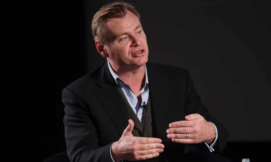 Christopher Nolan speaks at the LFF Connects discussion at BFI Southbank on Friday.
