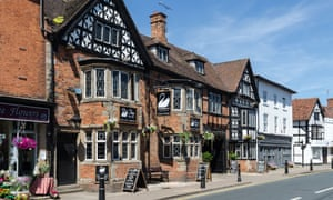 The White Swan at Henley-in-Arden today.