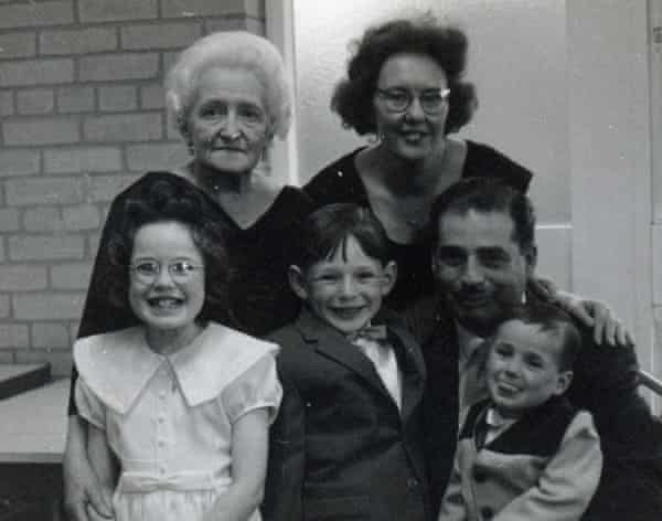 Laura, front left, with her gran, Mena, back left, her parents Ralph and Helen, and brothers Keith, centre, and Gary.