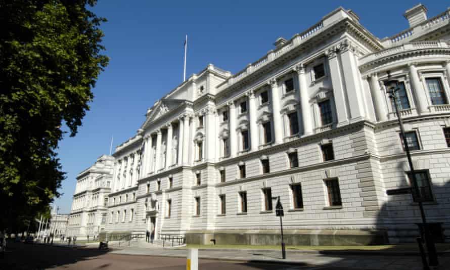 UK Treasury building