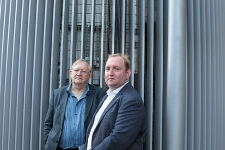 Former gambler David Bradford and his son Adam, founder of the Safer Online Gambling Group