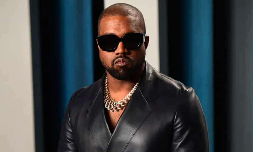 Kanye West pictured in February