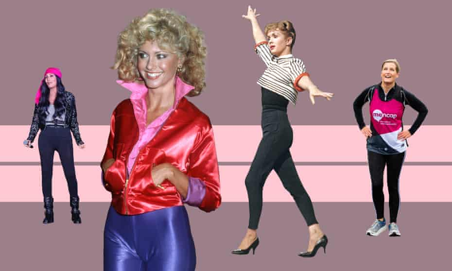 From left to right: Cher, October 2020; Olivia Newton John, 1978; Debbie Reynolds, circa 1965; Sophie, Countess of Wessex, October 2020.