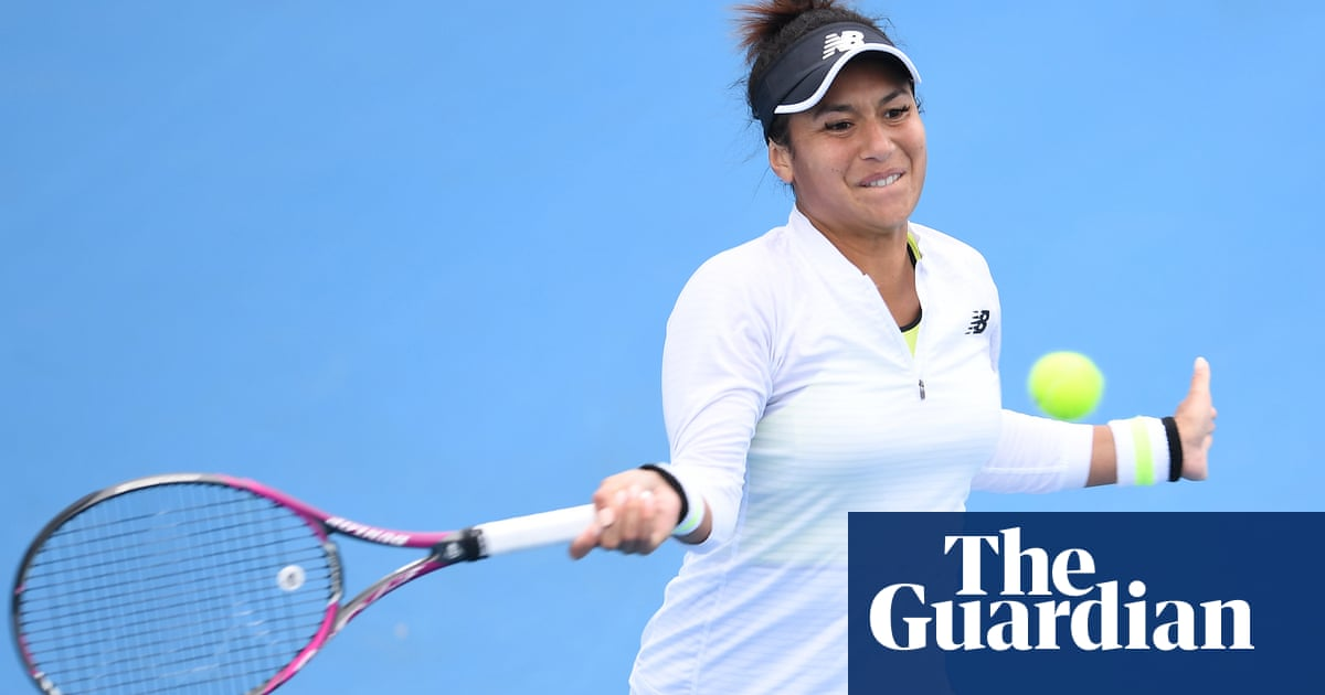 Heather Watson's Australian Open hopes lifted by love and Yeovil Town