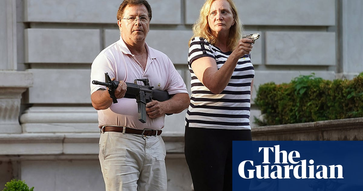Missouri couple who pointed guns at protesters may have law licenses revoked