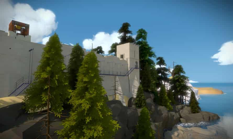 Is The Witness a battle between the player and the game's creator?