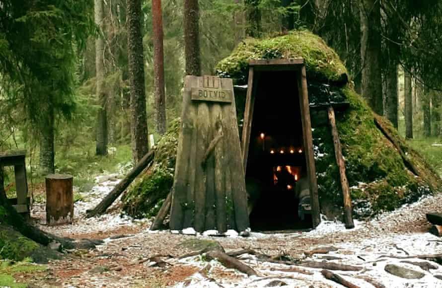 Kolarbyn eco-lodge, Sweden.