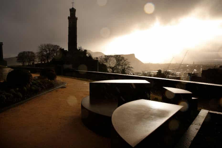 Enlightenment … the view across Edinburgh from Calton Hill.
