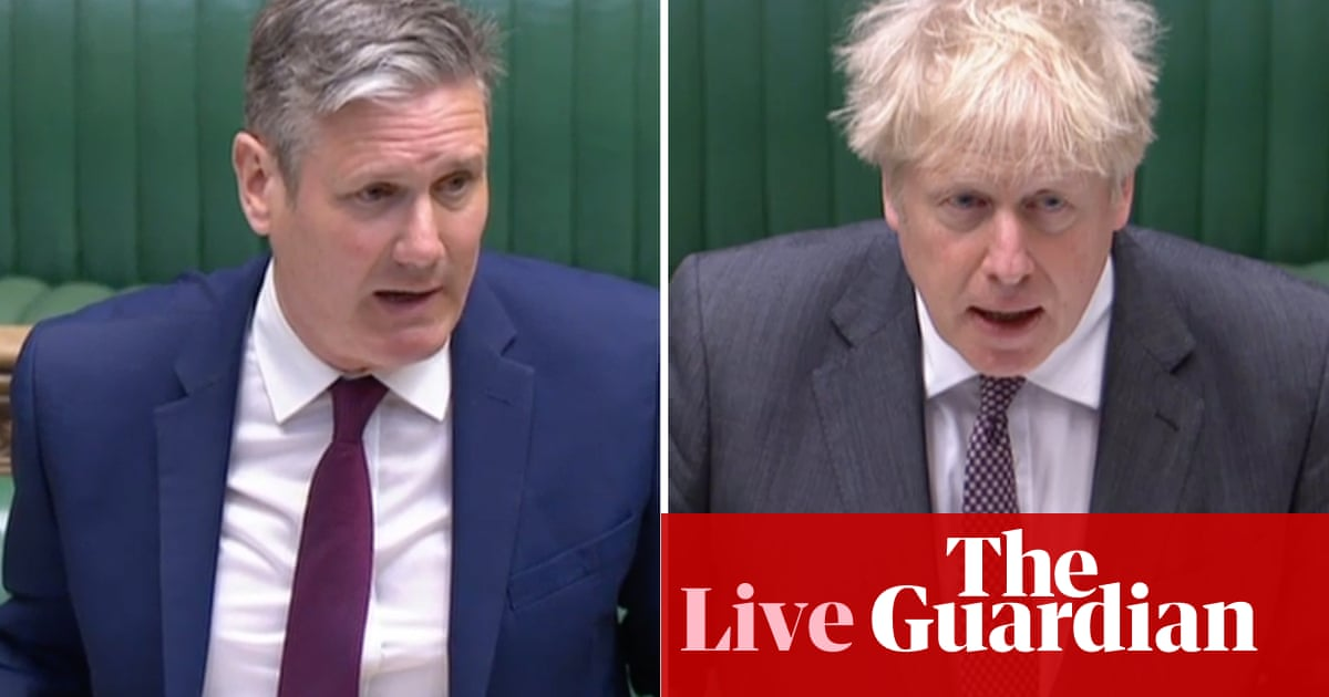PMQs: Boris Johnson says he 'makes no apology' after Labour accuses him of 'stench of sleaze' over texts to James Dyson – live