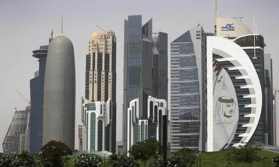 Skyscrapers in Doha