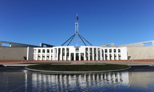 AUSTRALIA-POLITICS<br>Australia's Parliament House in Canberra on September 7, 2010.  Australian Prime Minister Julia Gillard retained power by a tiny, one-seat majority after winning the backing of two key independent MPs in the first hung parliament in decades.        AFP PHOTO / Torsten BLACKWOOD        (Photo credit should read TORSTEN BLACKWOOD/AFP/Getty Images)