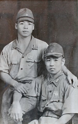 Kameo Yamanaka, left, with Taku Kawarai.