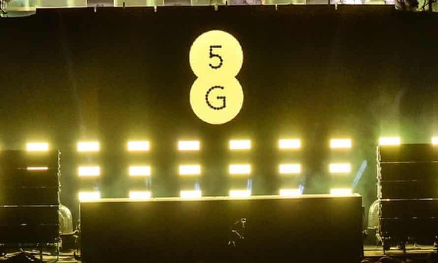 5G powered lights