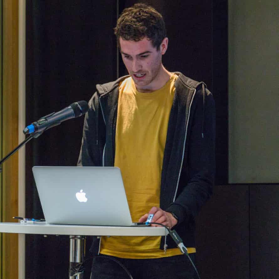 Calum Campbell at Guardian HackDay 2017