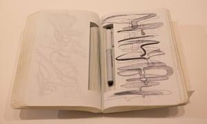 Notebook  ZAHA HADID