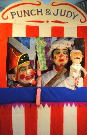 Punch and Judy (2012) by Lisa Wolfe and Peter Chrisp.