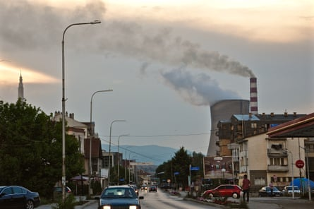 Obilić, 5km outside the Kosovan capital Pristina, is surrounded on three sides by two Tito-era coal power plants and a coal mine. It has some of the worst air pollution in Europe.