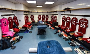 Liverpool dressing-room
