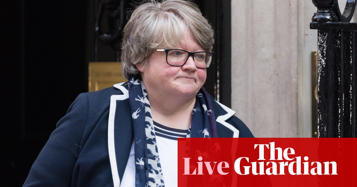 Thérèse Coffey branded 'heartless' by Labour after saying she is happy with universal credit cut – Politics live news