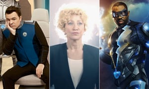 Forthcoming TV offerings: The Orville, Law & Order True Crime: The Menendez Brothers, and Black Lightning.