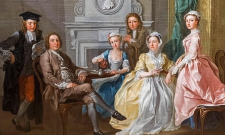 The Tyers Family by Francis Hayman (1740).
