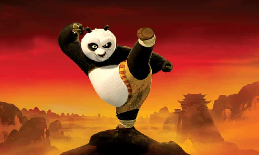 The real thing … Kung Fu Panda spawned a host of imitators.