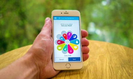 People who took part in the study logged their symptoms every day via a smartphone app.