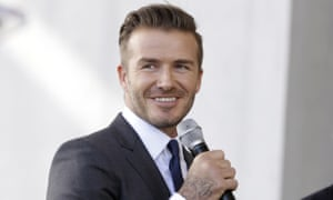 David Beckham, who was accused of driving at 59 mph in a 40 mph zone in Paddington.