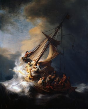 Rembrandt's only known seascape, Christ in a Storm on the Sea of Galilee, was part of the haul from Isabella Stewart Gardner Museum. The total worth of the art stolen was estimated to be around $500m.