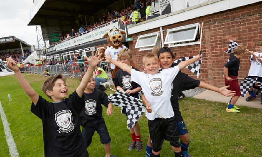 Hereford FC fans