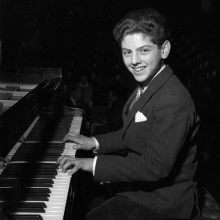 Daniel Barenboim aged 13 at his Royal Festival Hall debut in 1956.