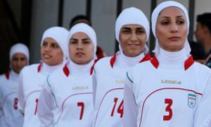 Iranian women's football team