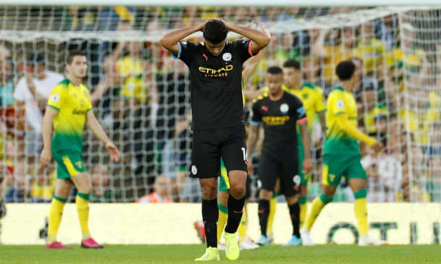 Manchester City suffered a shock defeat at Norwich last weekend.