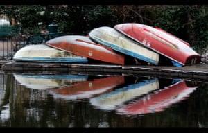 Boats in winterPhotograph: wickel/GuardianWitness