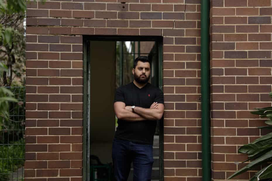Omar Sakr at home in Ashfield
