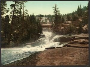 Silver Apron, Yosemite valley, California