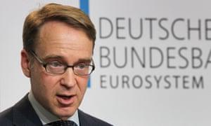 The president of the Deutsche Bundesbank, Jens Weidmann.