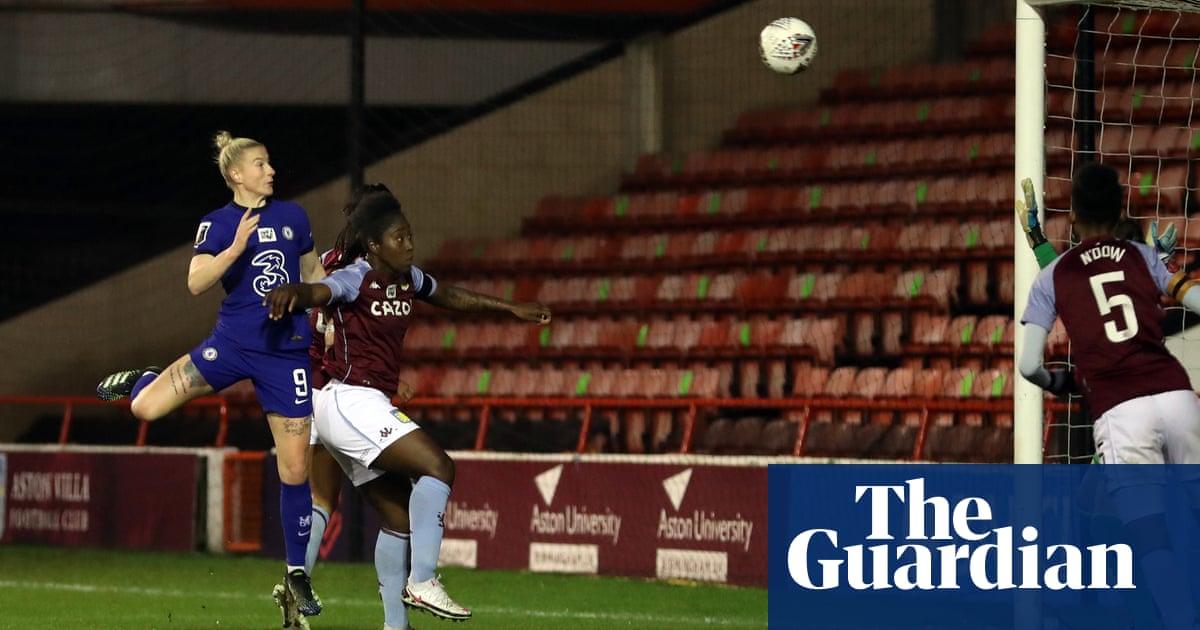 Chelsea set WSL record with comfortable win at Aston Villa