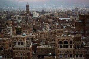 View of Sana'a, Yemen's capital, on 12 September 2019.
