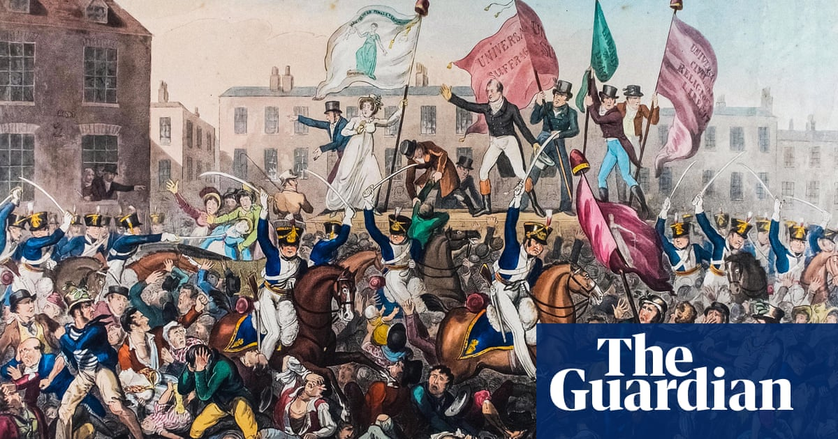 The bloody clash that changed Britain | News | The Guardian