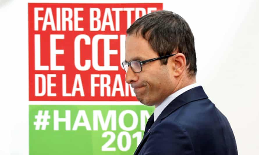 Benoît Hamon, French Socialist party 2017 presidential candidate.