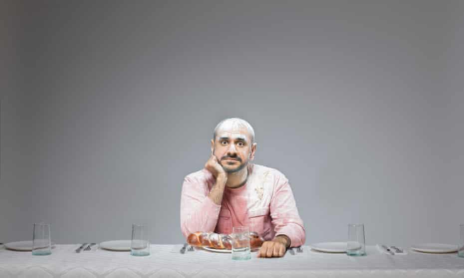 One of Pål Hansen's portraits of Gavin Ambani.