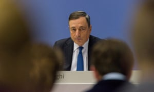 Mario Draghi, ECB president. His compromise stimulus package disappointed investors on Thursday and sent European stocks lower.