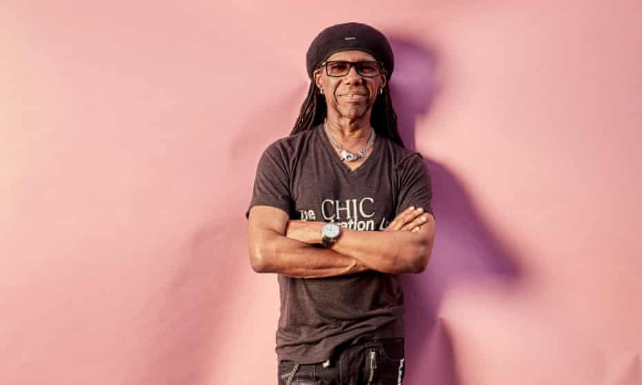 Nile Rodgers at the Serpentine.