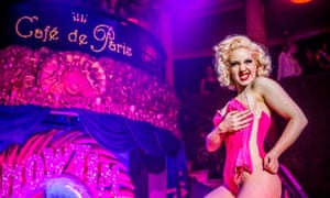 Christmas Showtime Cabaret, Cafe de Paris, London