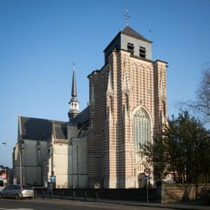 Saint Dymphna's church Geel