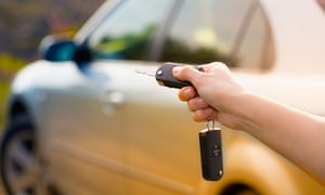 Mark all blemishes and damage on the rental agreement before you drive off.